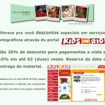 KIDS IN RIO + MARCELO VALLIN = Descontos para você!