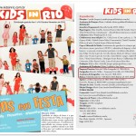 Editorial de moda infantil Kids in Rio