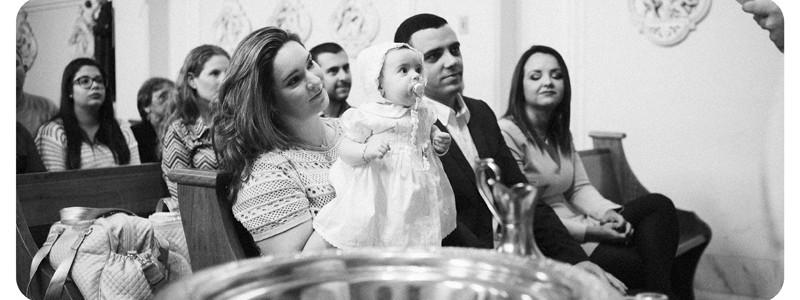 Fotografia de Batizados Batizado Luisa