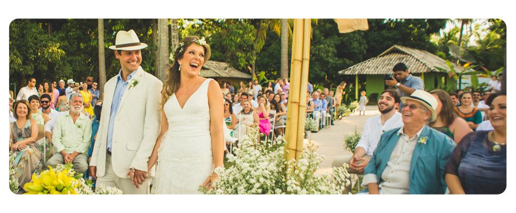 Casamento na Praia dos Carneiros pe