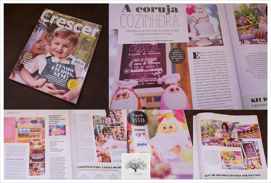 Revista crescer | Marcelo Vallin