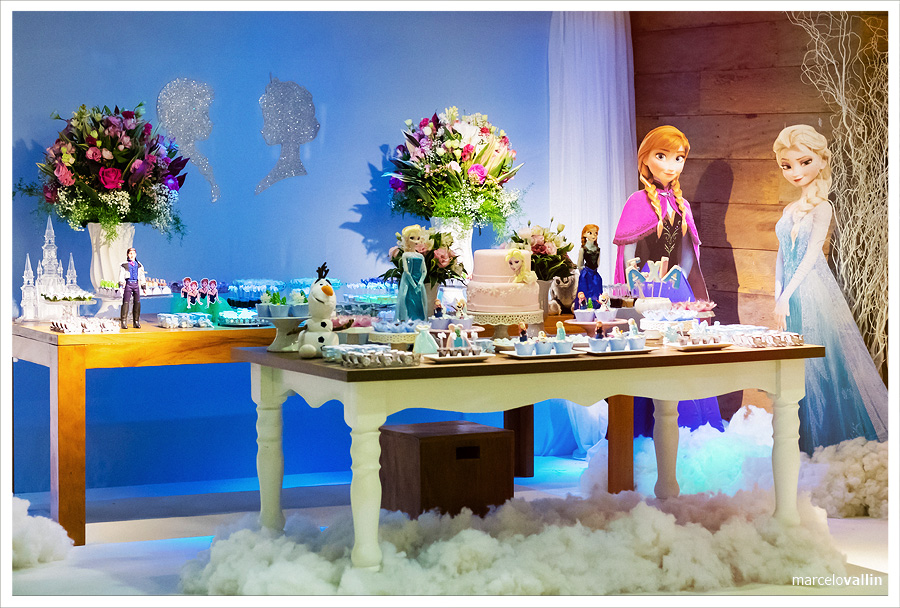 Festa Frozen | Quintal Aventura