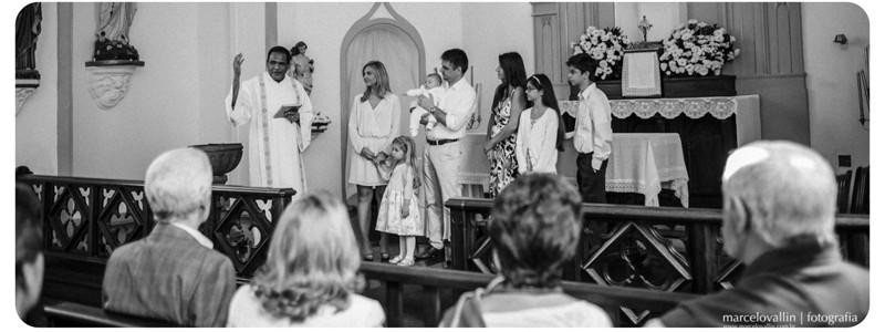 Fotografia de batizados