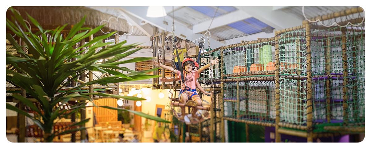 Fotografia Infantil Quintal aventura